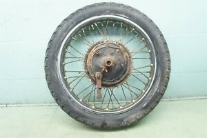 1967 Triumph TR6R T 120 T120R Bonneville 650 TR6 T120 *2302 REAR RIM BRAKE WHEEL