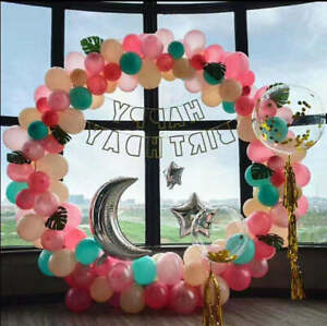 US Seller circle arch frame kit with column stand for party decoration balloo... $58.99