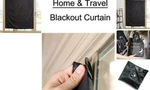 Temporary Portable Blinds Blackout Curtain Shade Adjustable Size with Suction C