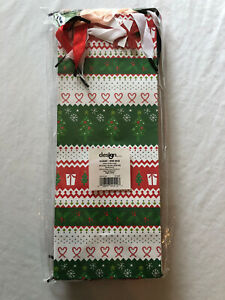Christmas Wine Gift Bags Multiple Designs 8 Count Design Group 5x13x4