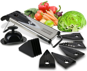 Premium Mandoline Fruit Vegetable Cutter For Home And Business Cheese Grater