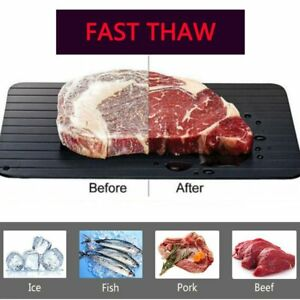 Fast Defrosting Tray Meat Thaw Rapid Safety Thawing Miracle Frozen Food Defrost