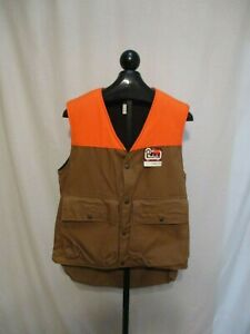 Woolrich Upland Game Hunting Vest Fleece Lined w Removeable Game Bag Medium