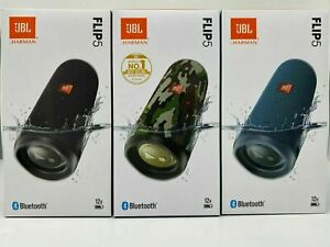 JBL Flip 5 Wireless Waterproof Portable Bluetooth Stereo Speaker Multiple Colors