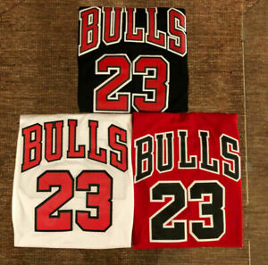 #23 Michael Jordan Chicago Bulls Mens or Youth Stitched Jersey RED BLACK WHITE $33.99