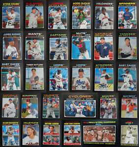 2020 Topps Heritage Minor League Baseball Cards Complete Your Set U Pick 1 220 $7.99