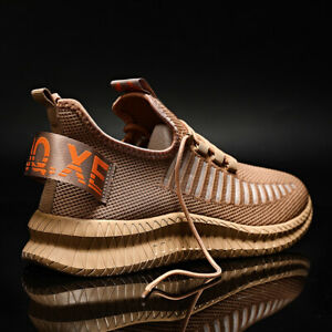 Mens Running Shoes Walking Breathable Trainers Athletic Tennis Gym Sneakers US $15.09