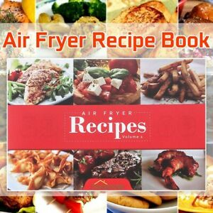 Recipe Book Air Fryer Delicious Meals Xmas Ladies Kitchen tool Women CookeryBook $3.96