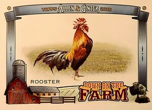 2020 TOPPS ALLEN amp; GINTER BASEBALL DOWN ON THE FARM INSERTS YOU CHOOSE $0.99
