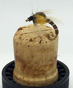 Fly Fishing Prime collection ADULT WINGED BUZZERS GINGER size 10 Pack of 12