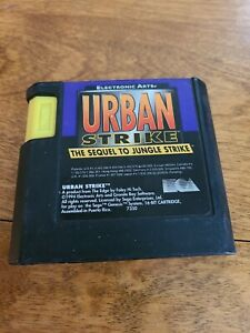 Urban Strike the Sequel to Jungle Strike Sega Genesis 1994 Cartridge