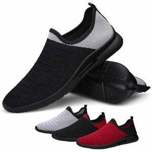 Mens Running Shoes Athletic Fashion Tennis Non slip Gym Walking Casual Sneakers $17.99