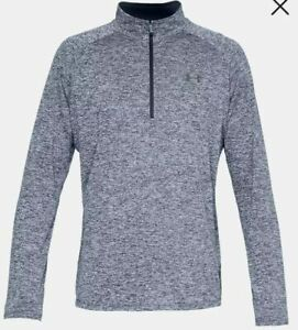 UNDER ARMOUR MENS TECH 2.0 1 2 ZIP LONG SLEEVE SHIRT ASST SIZES 1328495 408 $24.99