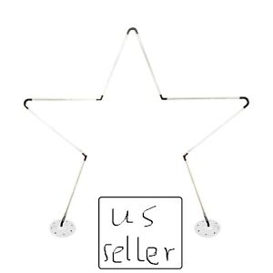 US Seller star shape balloon arch frame kit with column stand for party decor... $60.99