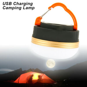 LED Camping Light USB Rechargeable Outdoor Tent Lamp Hiking Lantern Lamp
