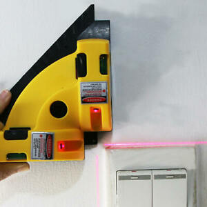 High precision Self leveling Line 90 degree Right Angle Laser Ground Infrared $14.99