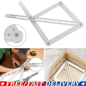 2020 Stainless Steel Corner Angle Finder Ceiling Artifact Square Protractor Tool $8.77