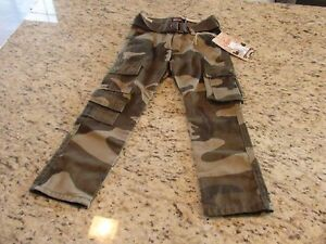 NEW Chams Boys Camo Cargo Pants Size 4 $5.99