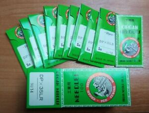100 pcs ORGAN DPX35 LR sewing needles for leather 134x35LR NM 90 SIZE 14 JAPAN $20.00