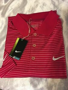 New Nike Golf Tour Performance Dry Fit Shirt Size L. large $49.00