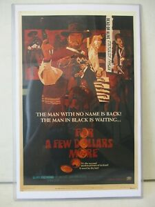 1967 For a Few Dollars More Movie Poster Reproduction 17x11