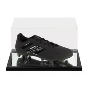 Ruud Gullit Signed Black Adidas Blackout Boot In Acrylic Case Autograph GBP 284.99