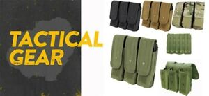 Molle AK Triple Rifle Mag Pouch Magazine Close Flap Pouch Pals