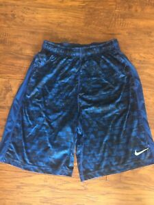 Blue And Black Nike Shorts $8.00