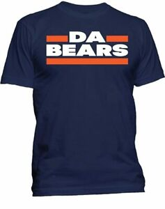 Chicago Bears Men#x27;s Navy DA BEARS T Shirt Hoodie Hooded Sweatshirt