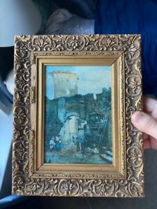 Roma Sparita 3 Vintage Paintings $150.00