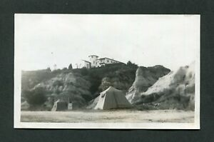 Vintage Photo Family Tent Camping on Beach Florida 439122