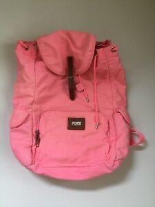 Victorias Secret Pink Backpack Drawstring Bucket $10.56