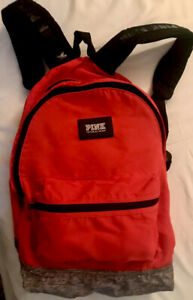 Victoria Secret Pink Backpack. Color Red. FREE SHIPPING $17.99
