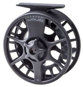 Lamson Liquid Fly Reel Black New All Sizes Closeout $64.97