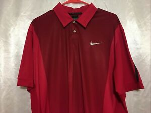Nike Tiger Woods Golf Collection Dry Fit Shirt Size L $65.00