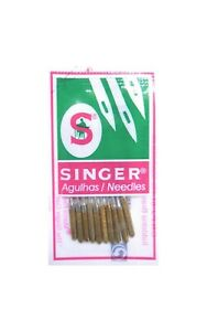 10 SINGER Sewing Needles System 2045 Strength 90 14 For Knit And Jersey $4.77
