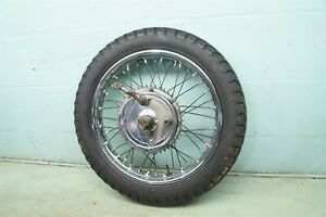 1967 Triumph T100R Daytona Twin T100 T100C TR5T Trophy *2343 REAR WHEEL BRAKE