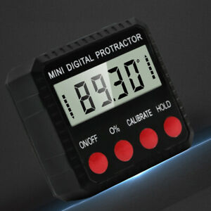 Digital Angle Finder Gauge Magnet Protractor Inclinometer Angle Cube LevelBox US $15.59