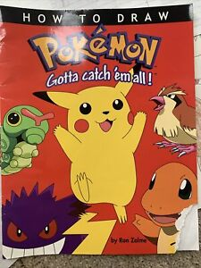 Pokemon Original Drawings And Instruction Manual $1000.00