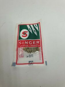10 SINGER Sewing Needles System 2020 Strength 80 11 For Knitted Fabric 2 Coils $5.97