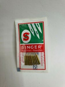 10 SINGER Sewing Needles System 2045 Strength 110 18 For Knitted Fabric $4.77