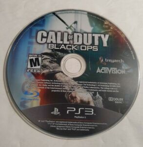Call of Duty Black Ops 1 one PlayStation 3 PS3 GAME ONLY Resurfaced