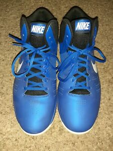 Nike Blue Air Basketball Shoes Size 11 Mens 749167 400 $19.95