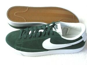 Nike Mens Blazer Low Suede Skate Shoes Pro Green White Size 8 NEW CZ4703 300 $69.99