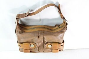 Brown Leather Michael Kors Shoulder Bag