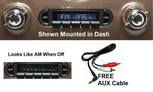 1955 1959 Chevy Truck Radio Free AUX Cable Stereo 230 $179.00