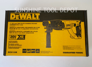Dewalt DCH133B XR 20V Brushless SDS 1quot; Rotary D Handle Hammer Drill Tool Only $129.99