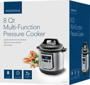 Insignia 8 Quart Multi Function Pressure Cooker Stainless Steel instant pot OB