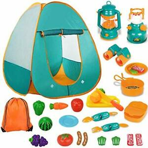 Kids Tent Camping Children#x27;S Toy Boy Girl Educational Toys Play House Set