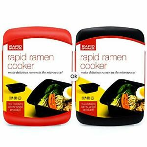 Rapid Ramen Cooker Microwave Ramen in 3 Minutes 1 Pack Mystery Red or Black $18.20